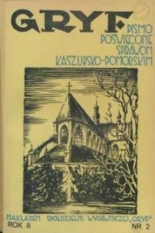 Gryf : pismo poświęcone sprawom kaszubsko-pomorskim, 1932, nr 2