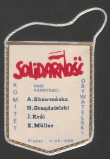 Proporczyk - Solidarność, Słupsk 04.06.1989