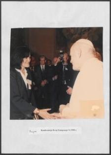 Kartka z albumu - Rzym, Konferencja Kraj Emigracja, X. 1999 r.