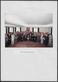 Kartka z albumu - Senat Kadencji 1991-1993