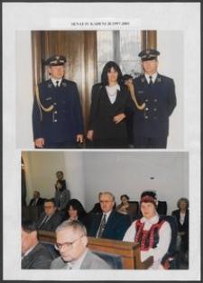 Kartka z albumu - Senat IV Kadencji 1997-2001