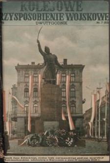Kolejowe Przysposobienie Wojskowe, 1936, nr 7 (83)