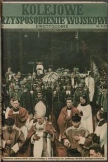 Kolejowe Przysposobienie Wojskowe, 1938, nr 9 (124)