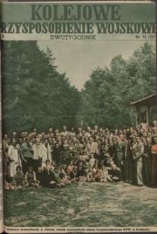 Kolejowe Przysposobienie Wojskowe, 1938, nr 12 (127)