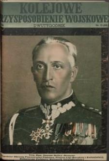 Kolejowe Przysposobienie Wojskowe, 1936, nr 12 (88)