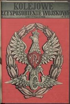 Kolejowe Przysposobienie Wojskowe, 1937, nr 13 (110)
