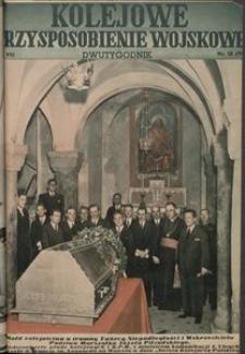 Kolejowe Przysposobienie Wojskowe, 1936, nr 18 (94)