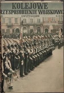 Kolejowe Przysposobienie Wojskowe, 1936, nr 20 (96)