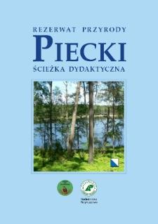 Rezerwat Przyrody Piecki : ścieżka dydaktyczna