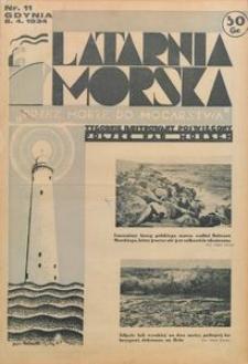 """Latarnia Morska : """"przez morze do mocarstwa"""", 1934, nr 11"""