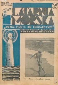 """Latarnia Morska : """"przez morze do mocarstwa"""", 1934, nr 20"""