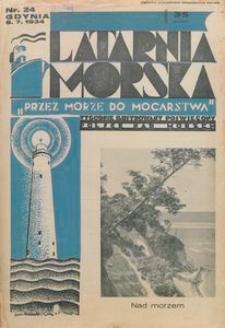 """Latarnia Morska : """"przez morze do mocarstwa"""", 1934, nr 24"""