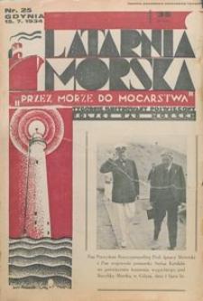 """Latarnia Morska : """"przez morze do mocarstwa"""", 1934, nr 25"""