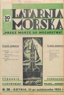 """Latarnia Morska : """"przez morze do mocarstwa"""", 1934, nr 38"""