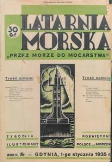 """Latarnia Morska : """"przez morze do mocarstwa"""", 1935, nr [1]"""