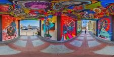 Słupskie murale - bramy ul Bema i Nowobramska