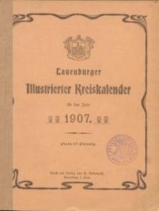 Lauenburger Illustrierter Kreiskalender für das Jahr 1907