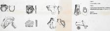 Człuchów - Fosa. Stanowisko 1. Zestawienie fragmentów ceramiki późnośredniowiecznej z wyk. III i IV