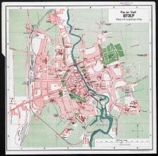 Plan der Stadt Stolp