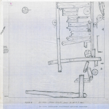 Słupsk - Stary Rynek. Ulica Drewniana wykładana dębowymi dranicami. Stanowisko 3, Ar 26, Cw D, wyk I