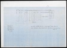 Słupsk - Stary Rynek. Rzut pionowy ściana południowa budynku 2 (widok od północy). Stanowisko 3, wyk. I, Ar 26, Cw A i B