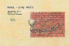 Słupsk - Stare Miasto. Profil ściany południowy. Stanowisko 45, sondaż 3