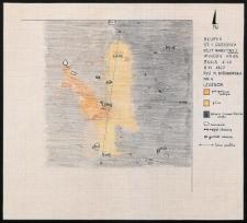 Słupsk - Grodzisko. Rzut warstwowy paleniska I. Stanowisko 1, wyk. II, Ar 83