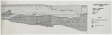Słupsk - Grodzisko. Profil północny wykopu II. Stanowisko 1