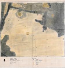 Słupsk - Grodzisko. Rzut poziomy warstwy III i IV, Stanowisko 1, wypkop II