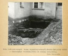 Dokumentacja fotograficzna z badań archeologicznych w Słupsku. Stanowisko 45