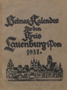 Heimatkalender für den Kreis Lauenburg i. Pom. für das Jahr 1937