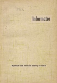 Informator, 1963, [nr 2]