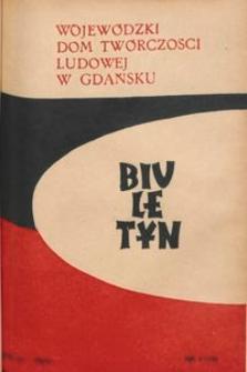 Biuletyn / Wojewódzki Dom Twórczości Ludowej w Gdańsku, 1959, nr 4