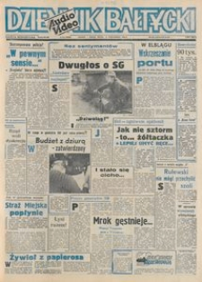 Dziennik Bałtycki 1992, nr 242