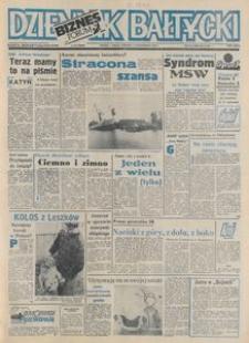 Dziennik Bałtycki 1992, nr 243