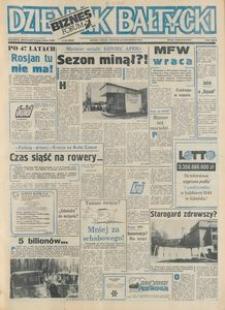 Dziennik Bałtycki 1992, nr 255