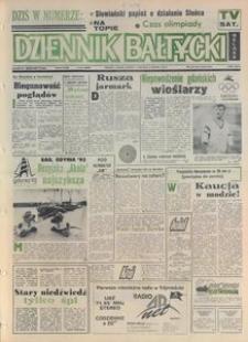 Dziennik Bałtycki 1992, nr 180