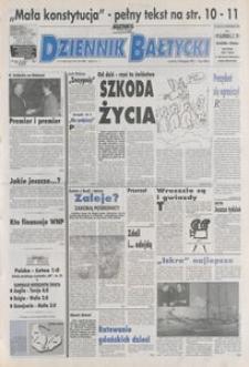 Dziennik Bałtycki 1992, nr 272