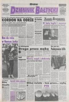 Dziennik Bałtycki 1992, nr 279