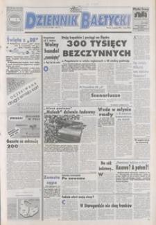 Dziennik Bałtycki 1992, nr 300