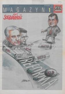 """Magazyn """"Solidarność"""", 1998, nr 1"""