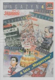 """Magazyn """"Solidarność"""", 1998, nr 4"""
