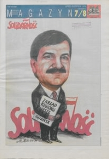 """Magazyn """"Solidarność"""", 1998, nr 7/8"""