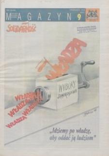 """Magazyn """"Solidarność"""", 1998, nr 9"""