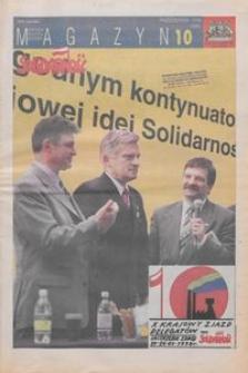 """Magazyn """"Solidarność"""", 1998, nr 10"""