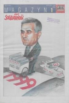"""Magazyn """"Solidarność"""", 1999, nr 1"""