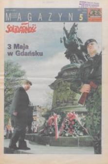 """Magazyn """"Solidarność"""", 1999, nr 5"""