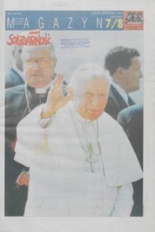 """Magazyn """"Solidarność"""", 1999, nr 7/8"""