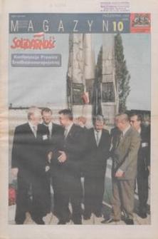 """Magazyn """"Solidarność"""", 1999, nr 10"""