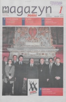 """Magazyn """"Solidarność"""", 2000, nr 1"""